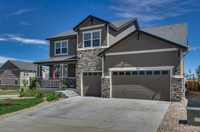 Castle Rock CO Single Family Home Active: $599,500