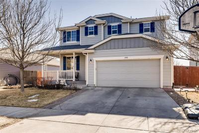 Brighton Single Family Home Under Contract: 4948 Spinning Wheel Drive