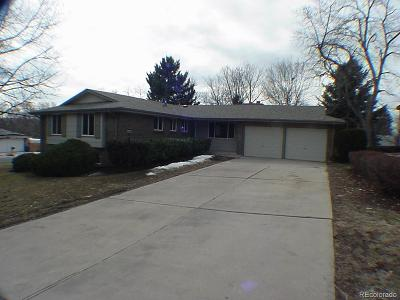 Arvada Single Family Home Under Contract: 7001 Pierson Street