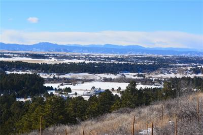 Franktown CO Residential Lots & Land Active: $349,900