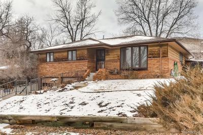 Arvada Single Family Home Under Contract: 6525 Brentwood Street