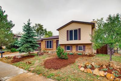 Broomfield Single Family Home Under Contract: 3301 West 10th Avenue Place