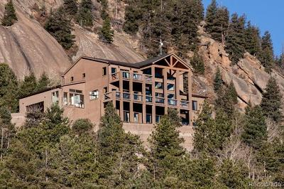 Manitou Springs Single Family Home Active: 1417 Forest Road