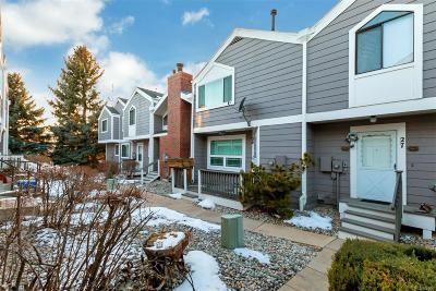 Arvada Condo/Townhouse Under Contract: 6690 West 84th Way #26