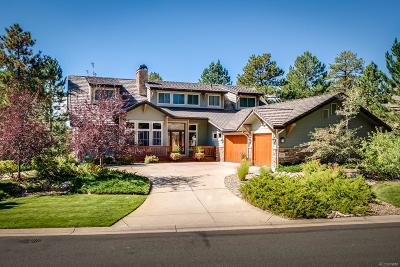 Castle Pines CO Single Family Home Under Contract: $865,000