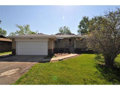 Wheat Ridge CO Single Family Home Active: $349,900