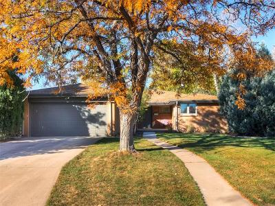 Denver CO Single Family Home Sold: $635,000