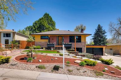 Englewood Single Family Home Under Contract: 4880 South Inca Street
