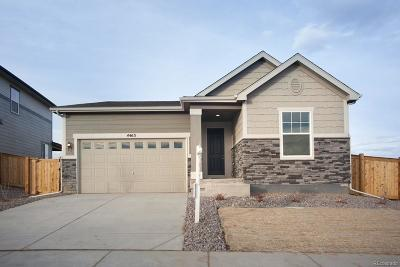 Thornton Single Family Home Active: 4463 East 96th Way