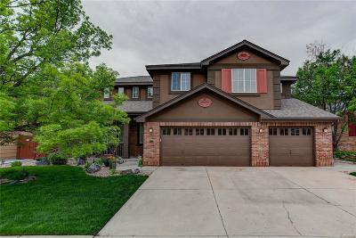 Littleton Single Family Home Under Contract: 6256 West Long Drive