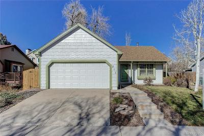 Broomfield Single Family Home Under Contract: 311 Mulberry Circle