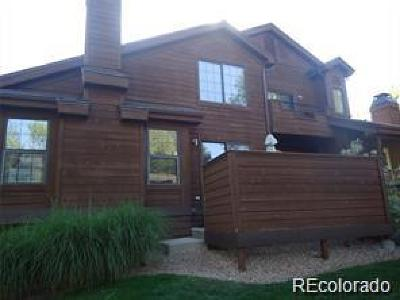 Arvada Condo/Townhouse Under Contract: 8020 Holland Court #B
