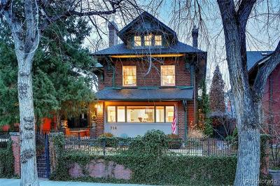 Denver Single Family Home Active: 714 Humboldt Street