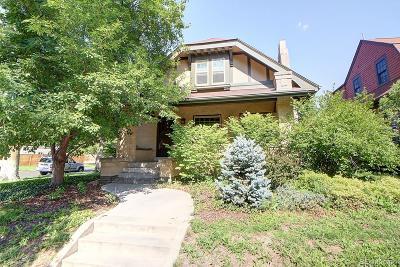 Denver Single Family Home Active: 2390 Dexter Street