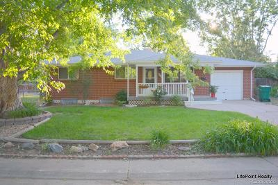 Arvada Single Family Home Active: 6101 Ammons Street