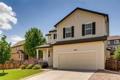 Castle Rock CO Single Family Home Active: $393,000