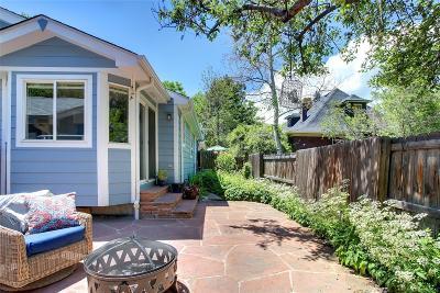 Denver Condo/Townhouse Under Contract: 3632 Stuart Street