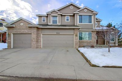 Highlands Ranch Single Family Home Under Contract: 9245 Mountain Brush Peak