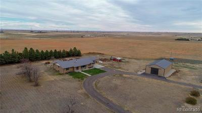Byers Single Family Home Active: 66597 East County Road 34
