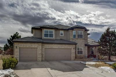 Castle Pines CO Single Family Home Under Contract: $805,000