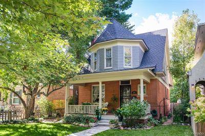 Denver Single Family Home Under Contract: 2337 Dexter Street