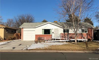Denver Single Family Home Active: 3074 South Zurich Court
