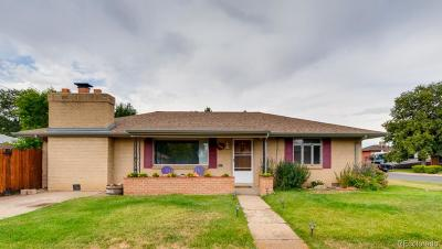 Arvada Single Family Home Under Contract: 6665 West 54th Place