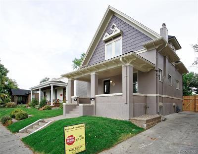 Denver Single Family Home Active: 1326 South Grant Street
