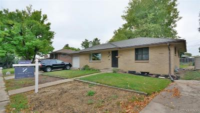 Arvada Single Family Home Under Contract: 6843 Teller Court