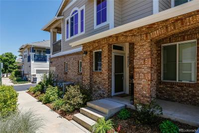 Highlands Ranch Condo/Townhouse Under Contract: 10272 Sedge Grass Way