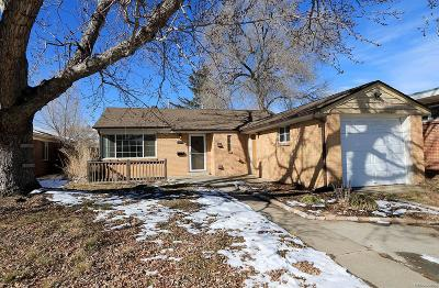 Denver Single Family Home Active: 3035 Ivy Street
