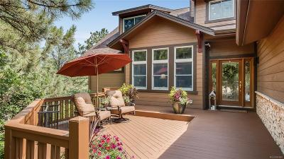 Castle Pines Single Family Home Under Contract: 1122 Forest Trails Drive