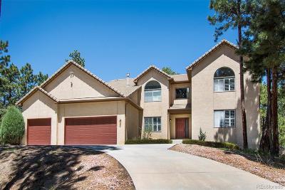 Monument Single Family Home Active: 380 Powderhorn Drive