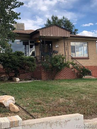 Denver Single Family Home Active: 510 South Stuart Street