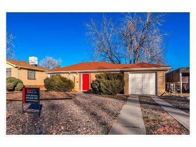 Denver Single Family Home Active: 3235 East 29th Avenue