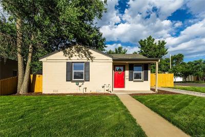 Denver Single Family Home Under Contract: 3700 Monroe Street