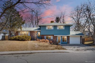 Boulder Single Family Home Under Contract: 4690 Berkshire Place