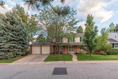 Centennial Single Family Home Active: 6376 East Long Circle