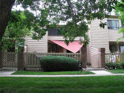 Boulder Condo/Townhouse Under Contract: 5086 Buckingham Road #A