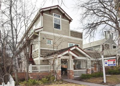 Boulder Condo/Townhouse Under Contract: 1834 Arapahoe Avenue #D