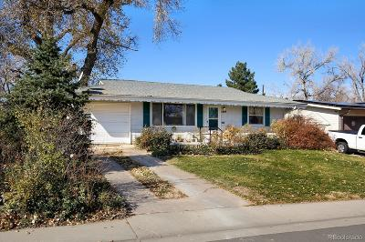 Denver Single Family Home Active: 1469 South Leyden Street