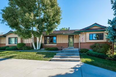 Wheat Ridge Single Family Home Under Contract: 4 Rangeview Drive