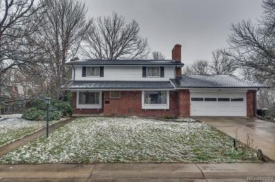 Lakewood Single Family Home Under Contract: 12085 West Applewood Knolls Drive