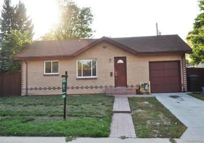 Denver Single Family Home Active: 2725 South King Street