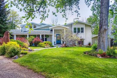 Boulder Single Family Home Active: 545 Theresa Drive