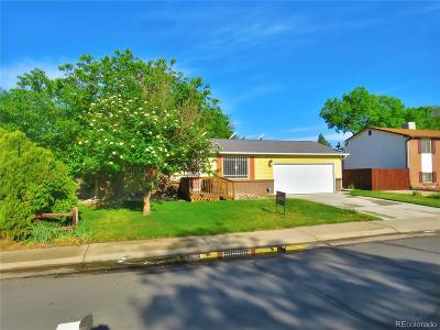 Thornton Single Family Home Active: 11393 Steele Street