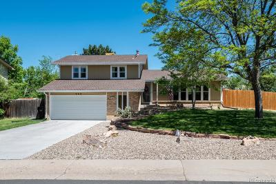 Broomfield Single Family Home Active: 960 Daphne Street