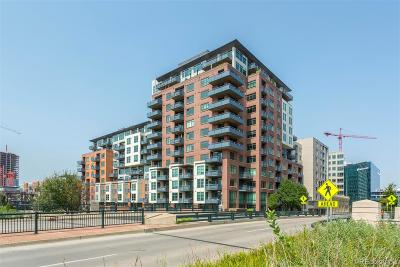 Denver Condo/Townhouse Under Contract: 1401 Wewatta Street #717