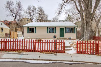 Security Single Family Home Active: 2129 Frontier Drive