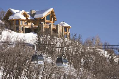 Steamboat Springs Single Family Home Active: 2610 Ski Trail Lane